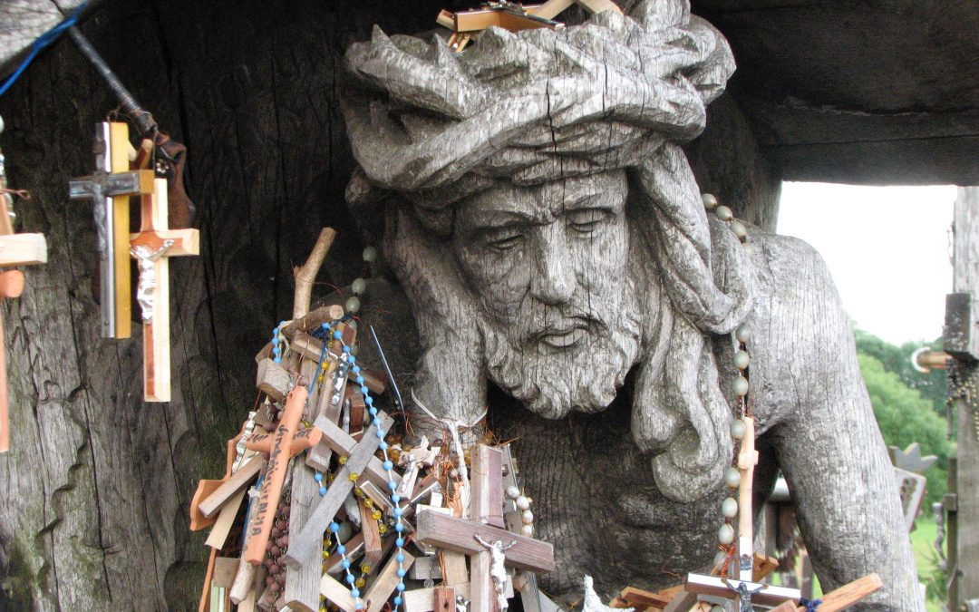 Sorrowful Christ Sculpture